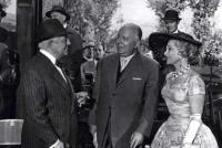 Jean Gabin et louis Seigner dans ''le Baron de l'écluse'' (1959)