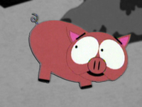 Fluffy le cochon de cartman