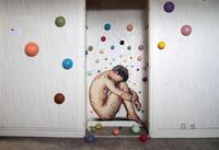 Tour Paris 13 immeuble livré au street art avant démolition - oeuvre de Jimmy C