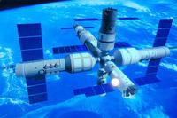 dessin de la future station spatiale chinoise
