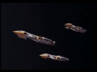 cosmos1999  Des éperviers attaquent la base Alpha!