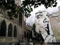 Place Stravinsky à Paris 4e (par Jef)