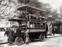 autobus Paris 1906