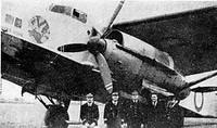Farman 223.4 le Jules Verne et l'équipage de Daillère
