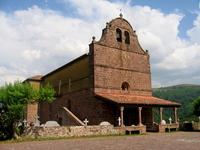 église de Bidarray du XIIe reconstruite en 1625