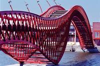 le pont rouge (amterdam)