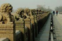 Lugouqiao (sud de Pékin) qui avait déjà émerveillé marco polo