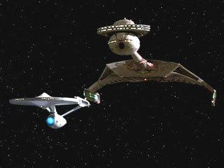 vaisseau klingon ancien modèle
