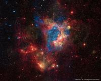NGC1929 amas d'étoiles très brillant (nasa)