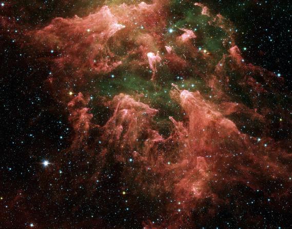 NGC 372 vaste nébuleuse de la Carène