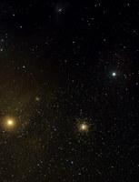 région de M4  - Antarès à droite et Jupiter à gauche (du Pic du midi,2007,christian bruil+valérie de