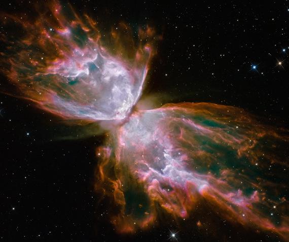 NGC6302 Nébuleuse de l'insecte ou du papillon