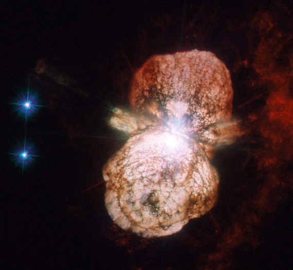 Eta carinae , étoile condamnée