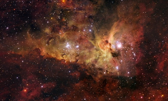 NGC 3372 eta carinae nebula