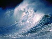 mer très agitée