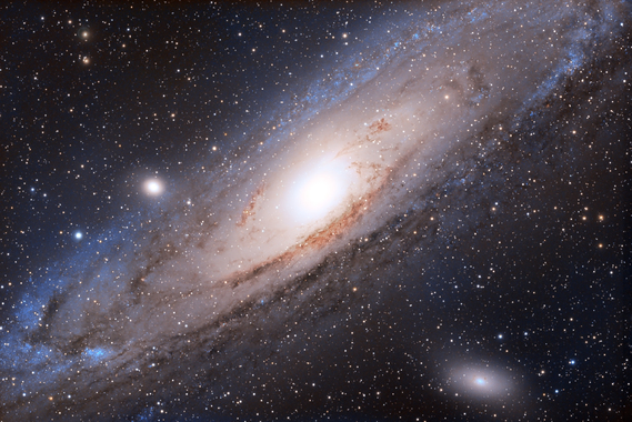 M31 galaxie d'Andromède