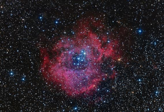 NGC2237 Nébuleuse de la Rosette
