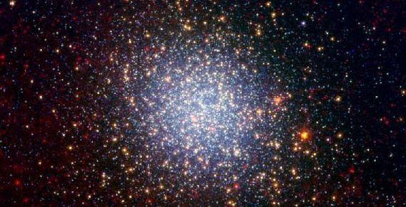 amas d'étoiles omega centauri