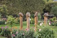 TOTEMS de laurent Le Deunff , jardin des plantes , fiac 2014