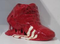 stefan gross ''red shoes'' matisse version fiac
