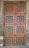 porte de la Maison Carrée (Nîmes, 1824, photo georges mathon)