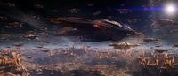 flotte de vaisseaux doryphores