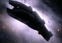 vaisseau de guerre necromonger