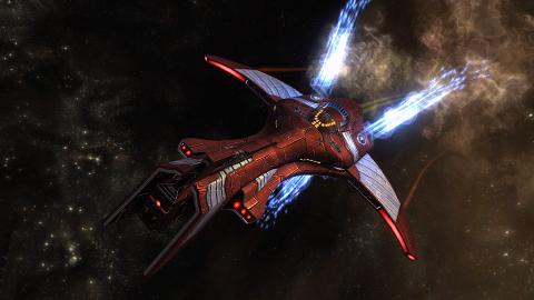 vaisseau temporel classe Korath