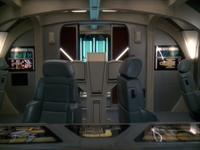 cockpit d'un runabout de STDS9 classe danube