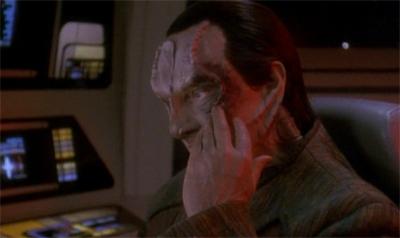 garak a reçu un argument très percutant d'odo