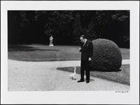 Malraux Ministre à La Lanterne en 1967 [photo gisèle Freund]