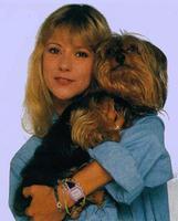 Dorothée et son chien