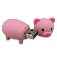 clé usb cochon