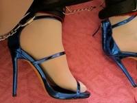 Sandales bleus