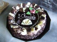gâteau 3 chocolat (acheté)
