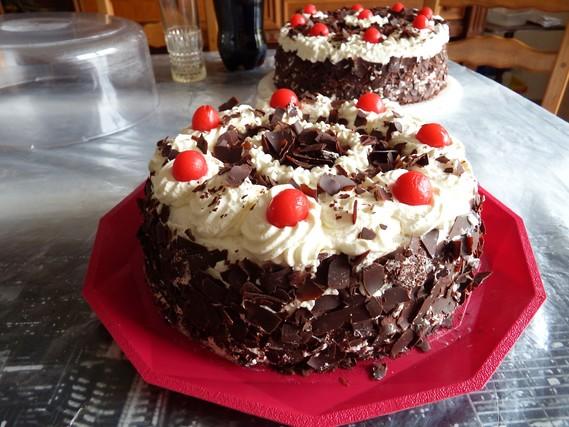 gâteau forêt noir