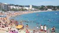 plage Lloret mar Espagne