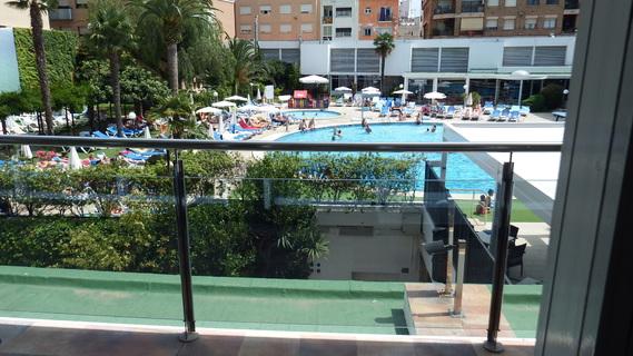 hotel Anabel vue sur piscine