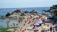 plage Lloret de mar Espagne