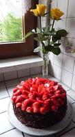 gâteau au fraises