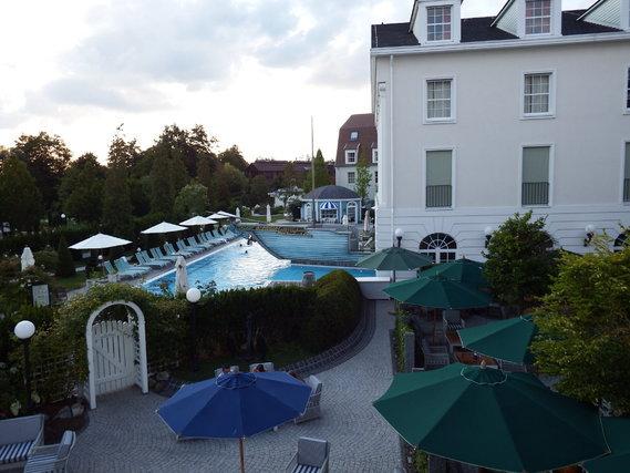 hôtel Bell Rock vue de la chambre