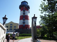 hôtel Bell Rock phare