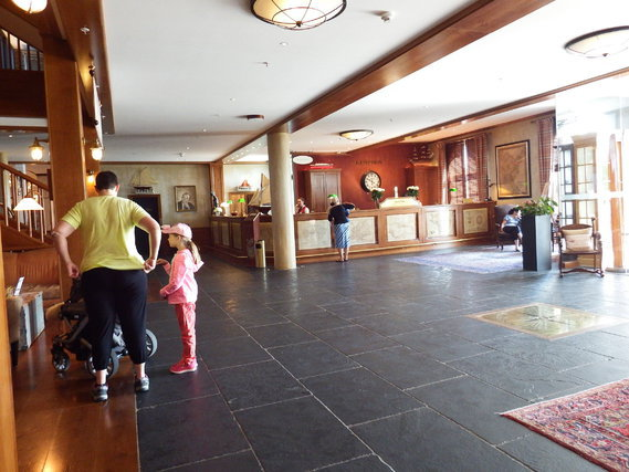 hôtel Bell hall d'entrée
