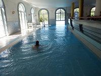 hôtel Bell Rock piscine partie intérieure