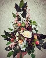 fleurs cimetière 2