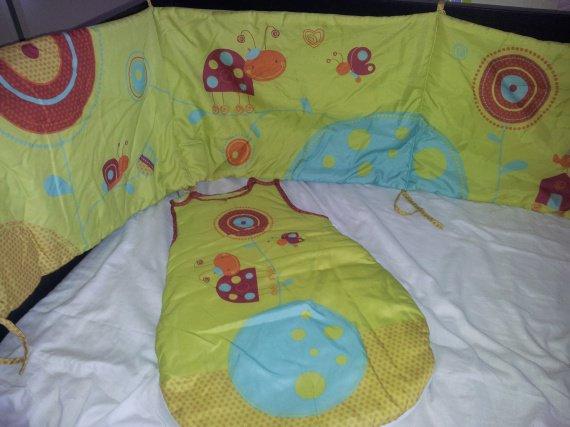 gigoteuse tour de lit achat pour baby boy. Black Bedroom Furniture Sets. Home Design Ideas