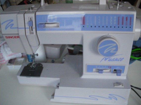 Ma machine à coudre