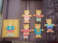 Puzzle Mme OURS, TBE, 3 euros