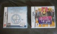 jeux de DS , 9 et 7 euros ou 15 les deux
