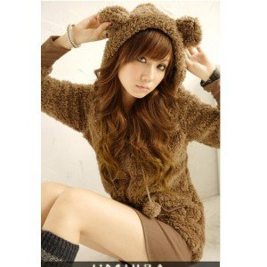 sweat-kawaii-ours-marron
